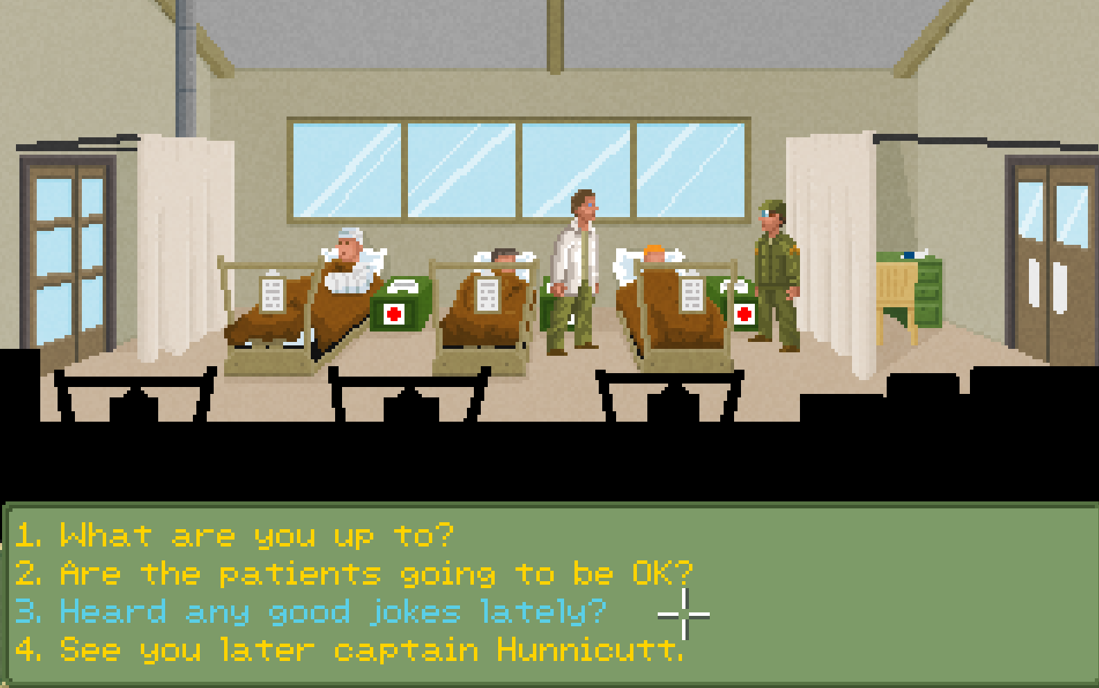 Screenshot 2 of M*A*S*H: Point n' Click adventure game width=