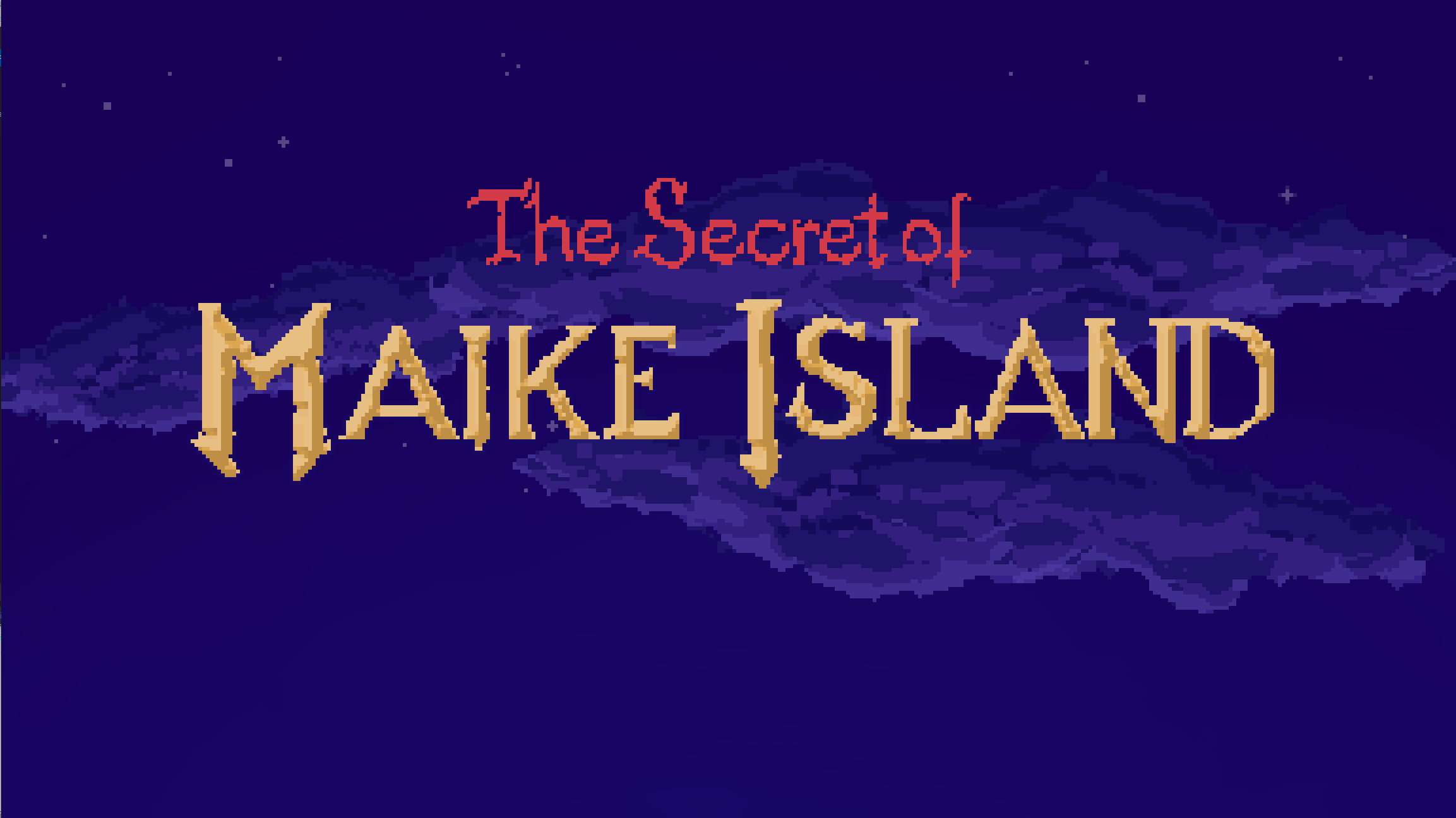 Zoomed screenshot of The Secret of Maike Island