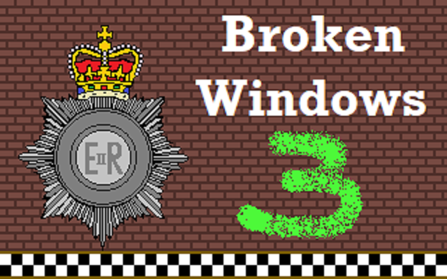 Zoomed screenshot of Broken Windows - Chapter 3