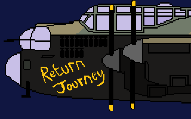 Zoomed screenshot of Return Journey