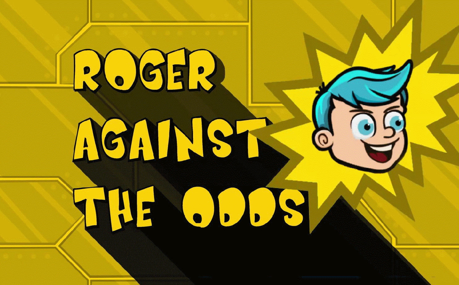 Zoomed screenshot of Roger Against The Odds. Part 1: Trapped in the lab