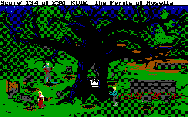 Screenshot 2 of King's Quest IV: The Perils of Rosella Retold width=
