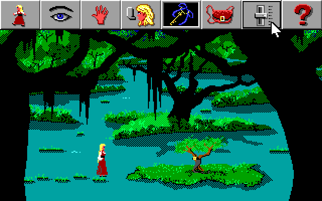 Screenshot 3 of King's Quest IV: The Perils of Rosella Retold width=