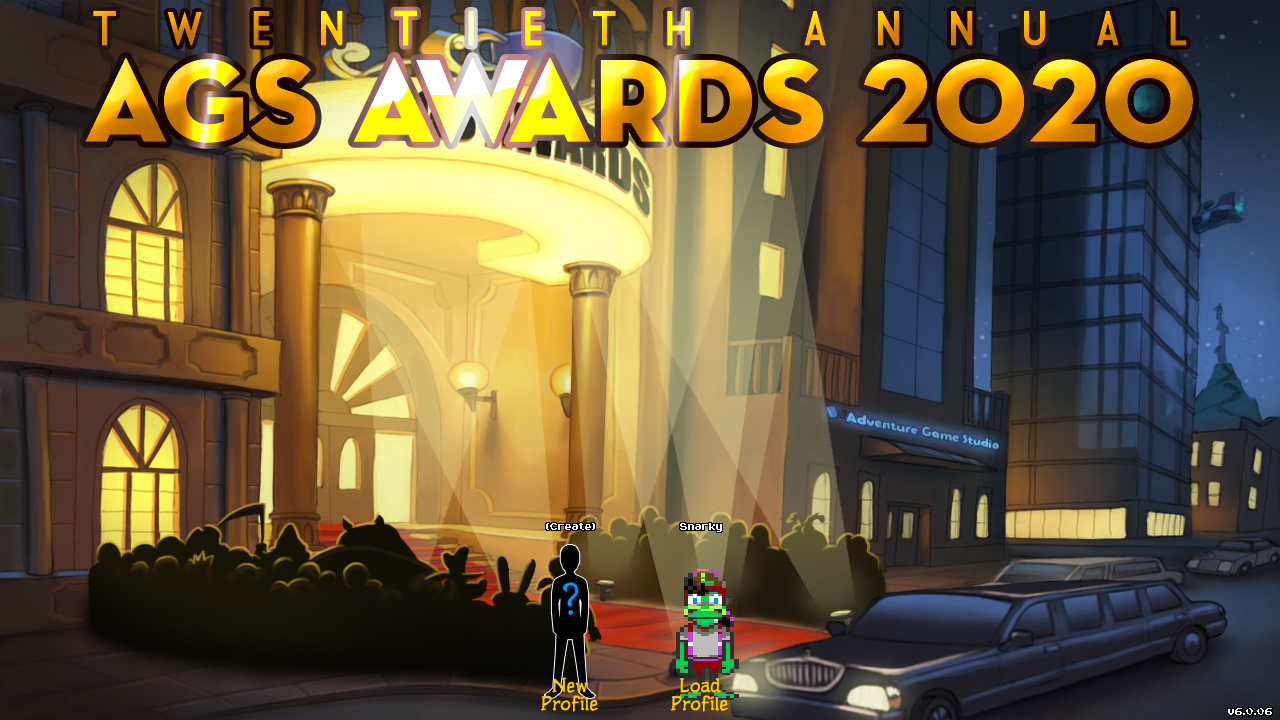Zoomed screenshot of AGS Awards Ceremony 2020
