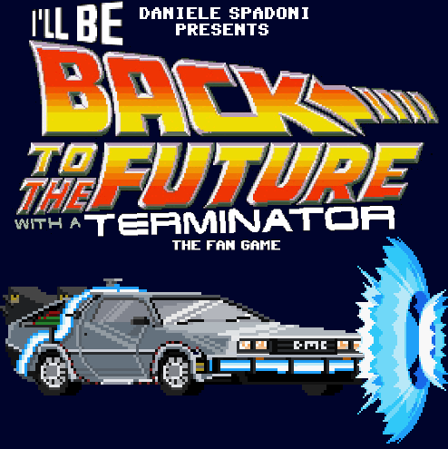 Zoomed screenshot of The Fan Game: I'll Be Back to the Future With a Terminator