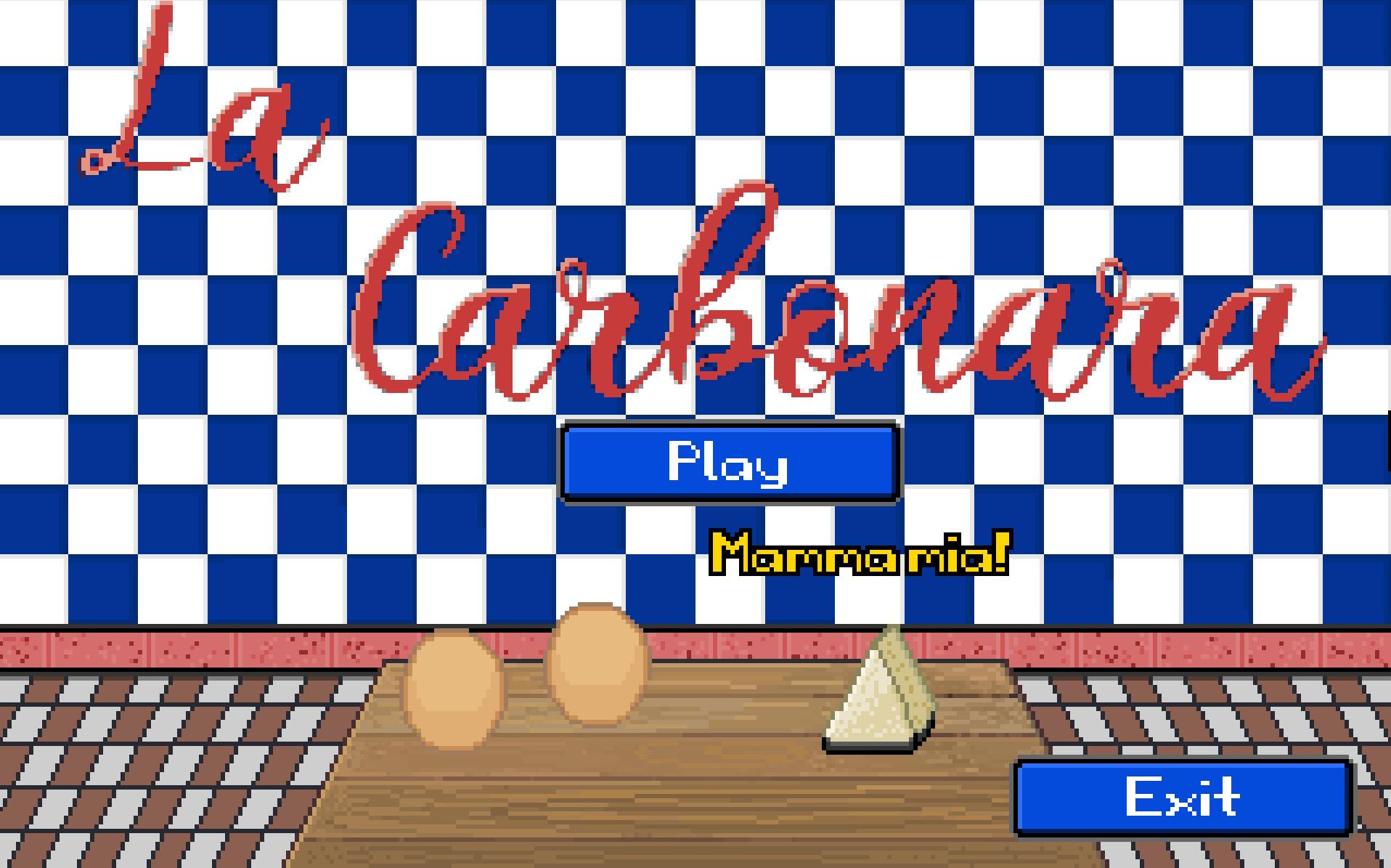 Zoomed screenshot of La Carbonara