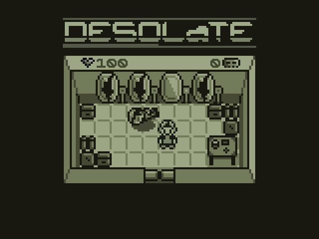 Zoomed screenshot of Desolate