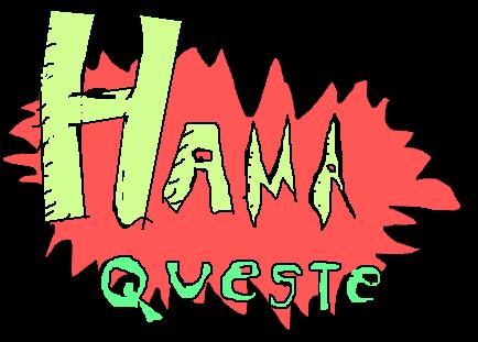 Zoomed screenshot of Super Hama Queste