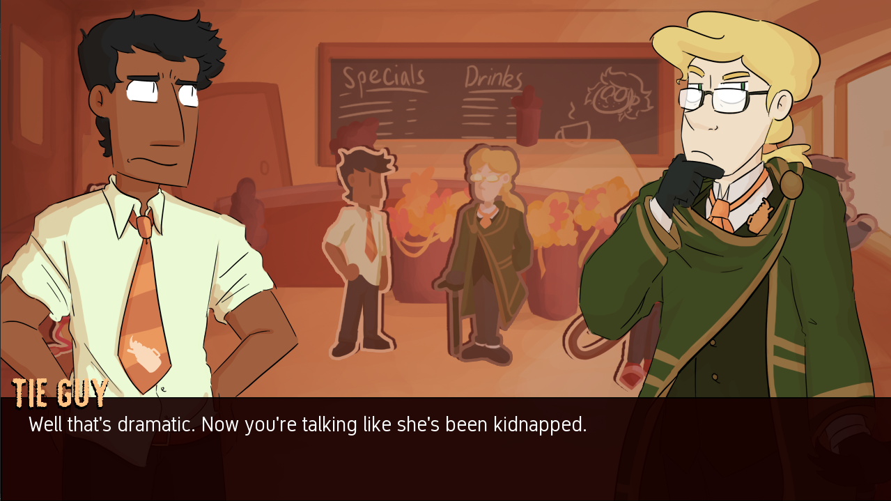 Screenshot 2 of Trouble on the Corner of Sugar & Spice (Demo) width=