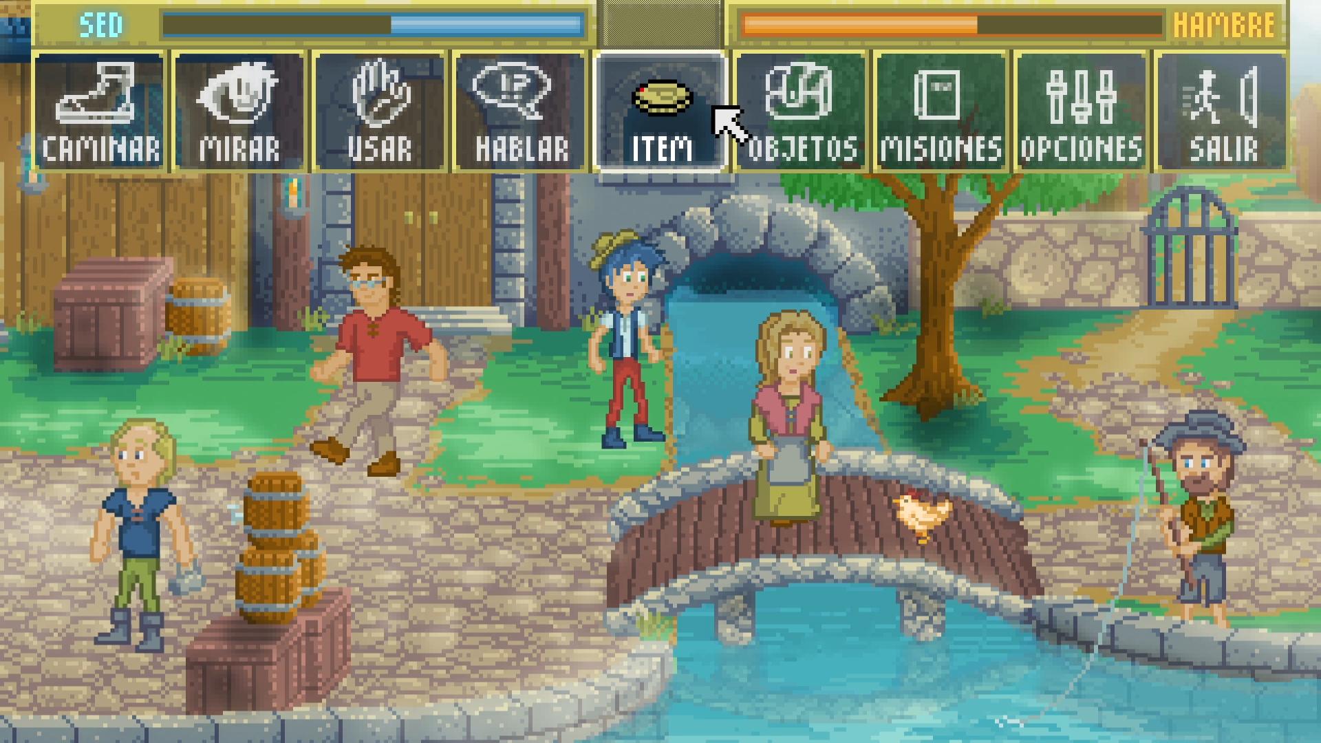 Screenshot 3 of Pedro's Adventures in Spanish width=