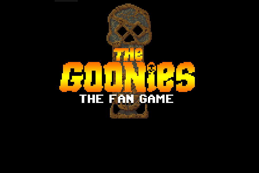 Zoomed screenshot of The Fan Game: The Goonies