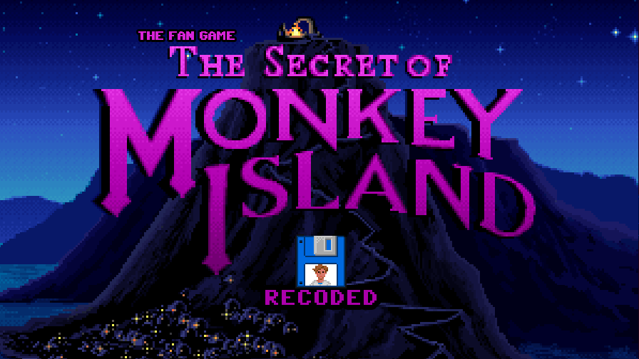 Zoomed screenshot of The Fan Game - The Secret of Monkey Island  - RECODED -