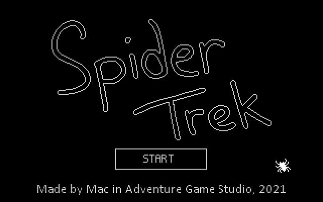 Zoomed screenshot of Spider Trek
