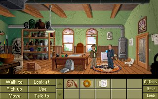 Screenshot of Indiana Jones� and the Fountain of Youth ROLLING DEMO