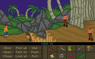 Zoomed screenshot of Pirate Fry 3: The Isle of the Dead