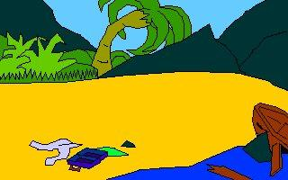 Screenshot 1 of Pirate Fry and Volcano Island