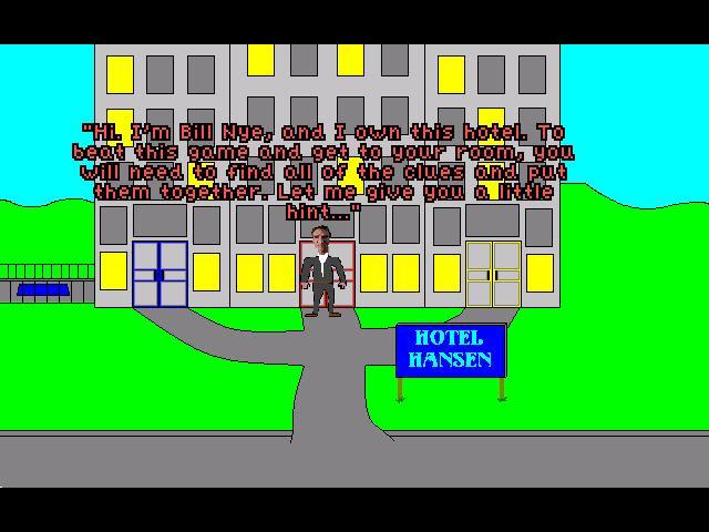 Zoomed screenshot of Hotel Hansen 2.0