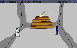 Zoomed screenshot of Rob: Chainsaw Massacre