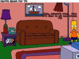 Screenshot 1 of Bart's Quest For TV
