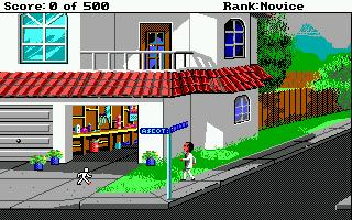 Screenshot of Leisure Suit Larry 2 Point and Click (Final version)