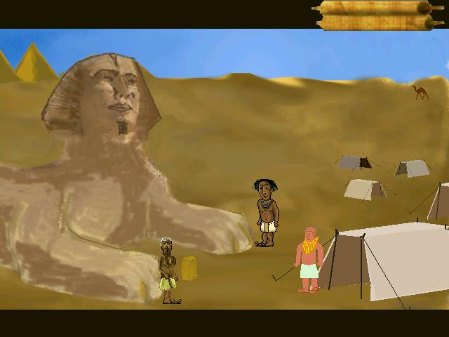 Screenshot of Awakening of the Sphinx  DEMO
