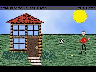 Zoomed screenshot of Brad Bradson I: Key Quest