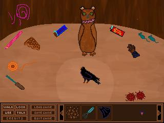 Screenshot of Ralph the Raven