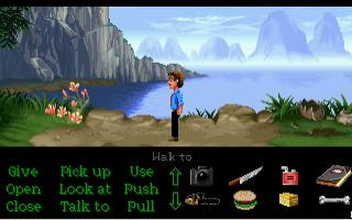 Screenshot of The New Adventures of Zak McKracken