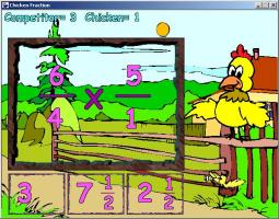 Screenshot 1 of Chicken Fraction
