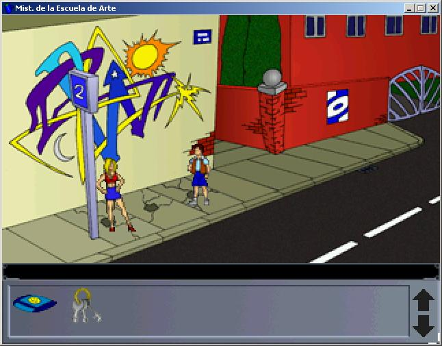 Screenshot of The Mystery of the Art School