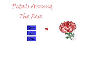 Zoomed screenshot of Petals around the Rose