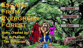 Screenshot 1 of Escape From Evergreen Forest