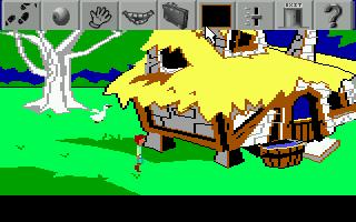 Zoomed screenshot of Black Cauldron Remake
