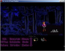 Screenshot 1 of The secret of Mount Monkey