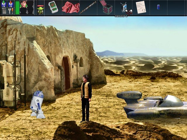Screenshot of Star Wars Shadows of the Empire: Graphic Adventure - TECH DEMO