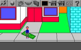 Screenshot 1 of another DG game: the search of the batteries