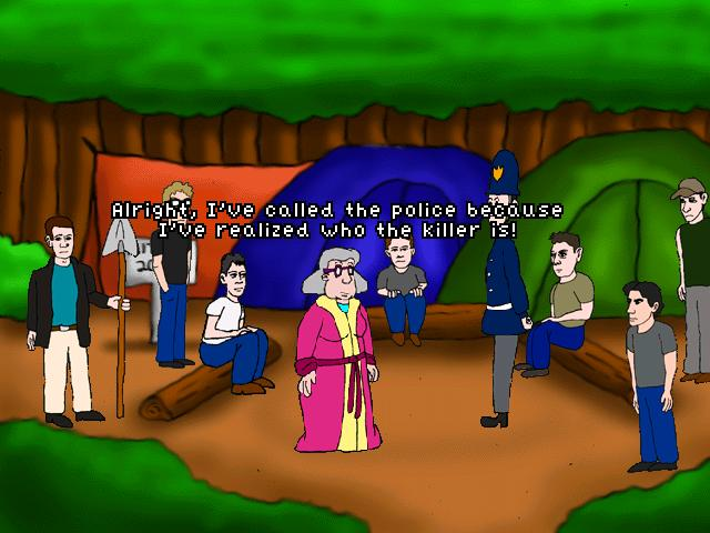 Screenshot of Granny Zombiekiller in Mittens Murder Mystery