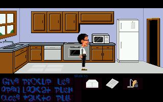 Zoomed screenshot of Maniac Mansion Mania - Episode 1: Sibling love