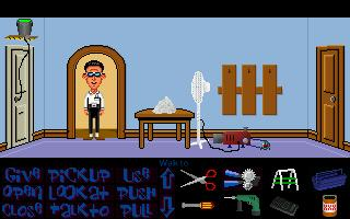 Zoomed screenshot of Maniac Mansion Mania Episode 8 - 'The Rebuff'
