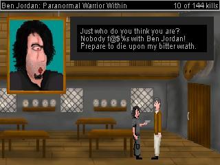 Screenshot of Ben Jordan: Paranormal Warrior Within Case 1 - Wrath of the Skunk Ape