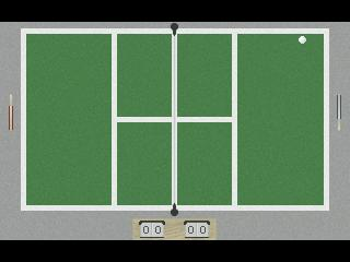 Zoomed screenshot of Pennis: The Ultimate in Pong!