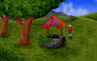 Zoomed screenshot of Knight's Quest III - Tides of Merania