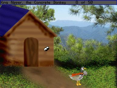 Zoomed screenshot of Goose Quest 1 DEMO