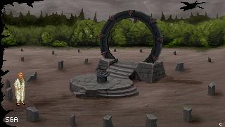 Zoomed screenshot of Stargate Adventure