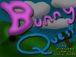 Zoomed screenshot of Bunny Quest