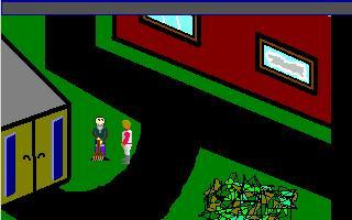 Zoomed screenshot of Bob Goes Home