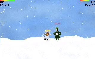 Screenshot 1 of Princess Marian VIII: Snowfight