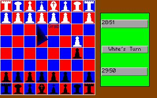 Zoomed screenshot of AGS Chess!