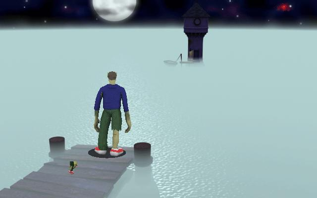 Zoomed screenshot of Mordy 2: The Mirror of Truth