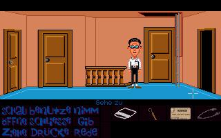Zoomed screenshot of Maniac Mansion Mania Episode 2 - Commotion